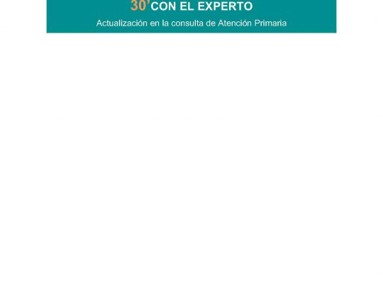 CICLO VIDEOCONFERENCIAS 30′ CON EL EXPERTO. INSCRIBETE