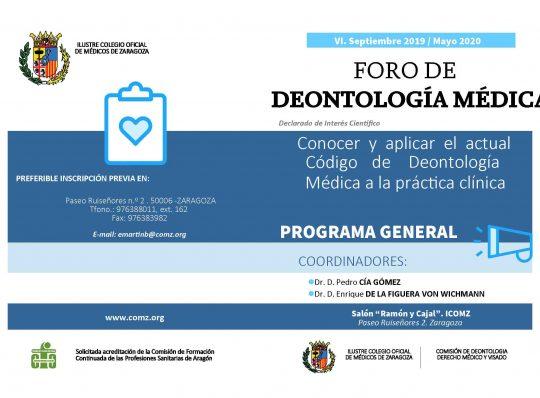 FORO DE DENTOLOGÍA MÉDICA SEPTIEMBRE- MAYO 20120