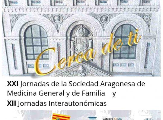 APLAZADAS LAS XXI JORNADAS DE LA SOCIEDAD ARAGONESA DE MEDICINA GENERAL Y DE FAMILIA